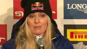 'Like I got hit by a truck' - Lindsey Vonn on Super-G crash [Video]