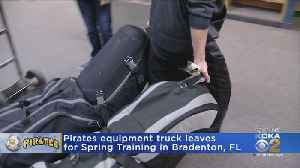Pirates' Equipment Truck On Its Way To Florida [Video]