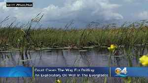 Court Clears Way For Everglades Drilling [Video]