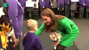 The Duchess Of Cambridge Visits A School To Support Children's Mental Health Week [Video]