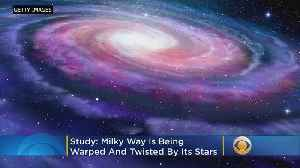 The Milky Way Is Being Warped And Twisted, Study Says [Video]