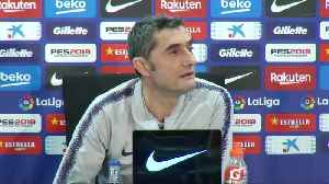Messi trains ahead of 'Clasico' but Valverde warns against taking risks [Video]