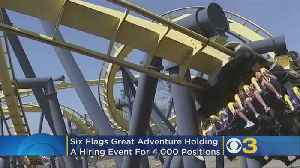 Six Flags Great Adventure Holding Hiring Events To Fill 4,000 Positions [Video]