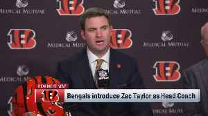 Cincinnati Bengals head coach Zac Taylor shares how he handled preparing for Super Bowl LIII and Cincinnati Bengals head coach p [Video]