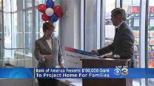 Bank Of America Presents $100,000 Grant To Project Home [Video]