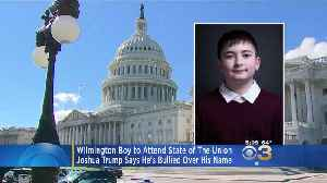 Wilmington Boy Will Be Guest At State Of The Union Address [Video]