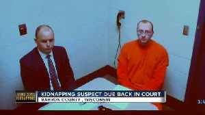 Kidnapping suspect due back in court [Video]