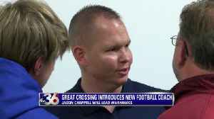 Great Crossing introduces new football coach [Video]