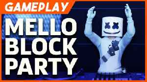 Fortnite And Marshmello Had The Craziest Live Concert (Fortnite Replay Gameplay) [Video]
