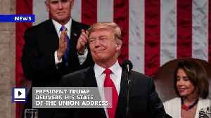 President Trump Delivers His State of the Union Address [Video]