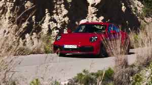 The new Porsche 911 Carrera 4S on the country roads [Video]