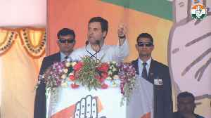 Naveen Patnaik is remote controlled by chowkidar, says Rahul Gandhi [Video]