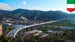 Genoa bridge to be replaced after deadly collapse [Video]