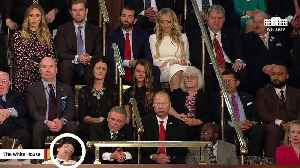 Joshua Trump Emerges As Viral Star After Appearing To Fall Asleep During State Of The Union Address [Video]