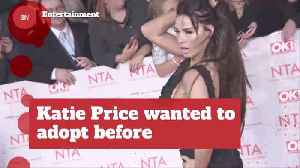 Katie Price Plans To Adopt A Nigerian Girl [Video]