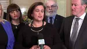 Sinn Fein: Theresa May came to Belfast 'empty handed' [Video]