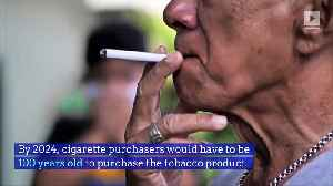 Hawaii May Pass a Ban on Cigarette Sales to Those Under 100 [Video]