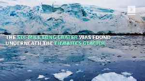 Giant Crater Discovered Under Glacier in Antarctica [Video]