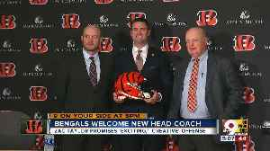 With Zac Taylor, Bengals (finally) look toward the future [Video]