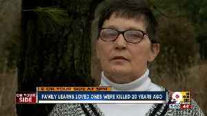 DNA leads 20-year-old cold cases to 'devastating' conclusion [Video]