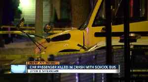 Little girl riding Milwaukee school bus witnessed deadly crash [Video]