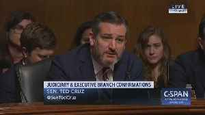 Ted Cruz slams Dems and Booker for questioning judicial nominee on religious beliefs [Video]