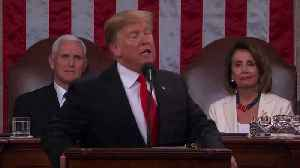 Trump Claims the State of Our Union is Strong to U.S.A. Chant [Video]