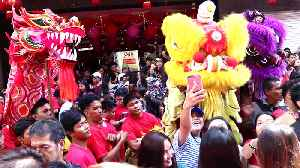 Colourful Scenese At Chinese New Year In Manila [Video]