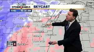 Michael Fish's Storm Shield wintry mix forecast [Video]
