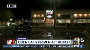 Suspects attack Uber Eats driver in Phoenix [Video]