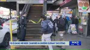 MS-13 gang member charged in deadly Queens subway platform shooting [Video]