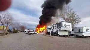 Tragic RV Explosion [Video]
