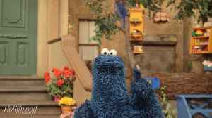 Cookie Monster Gives Exclusive 'Sesame Street' Set Tour [Video]