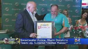 'Dolfan Maniac' Honored By City Of Sweetwater [Video]