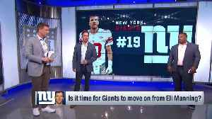 Should the New York Giants move on from veteran quarterback Eli Manning this offseason? [Video]