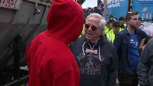 Robert Kraft soaks up sixth Super Bowl victory parade [Video]
