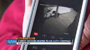 Community teams with New Berlin Police with home surveillance systems [Video]
