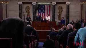 Donald Trump Did Not Wait for Nancy Pelosi to Introduce Him During the State of the Union [Video]