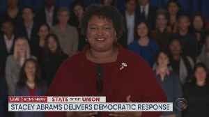 Stacey Abrams Delivers Democratic Response To SOTU [Video]