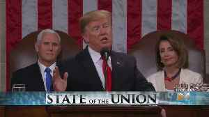 President Trump Says State Of The Union Is Strong Despite Looming Shutdown, Russia Investigation [Video]