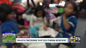 Who's crossing the southern border? [Video]