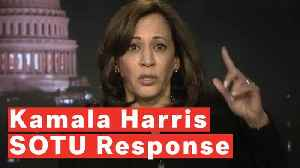 Kamala Harris Offers Pre-buttal Ahead Of Trump's State Of The Union [Video]