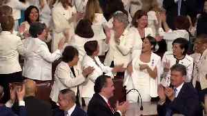 President Trump Celebrates Record Number of Women in Congress at SOTU [Video]