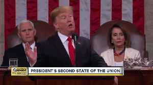 News video: President Trump gives second State of the Union address