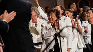 Watch: Female lawmakers cheer record number of women in US Congress [Video]