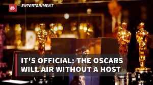 There Will Be No Oscars Host At All [Video]