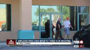 Employee fired after allegedly making mass shooting threat at Cape Coral pizzeria [Video]