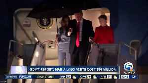 Presidents Trump's first 4 post-inauguration Mar-a-Lago trips cost taxpayers $13.6 million [Video]