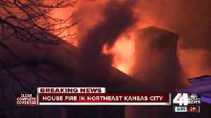 KCFD: Early-morning fire destroys house, displaces 4 in historic northeast [Video]