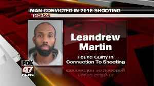 Martin convicted in shooting [Video]